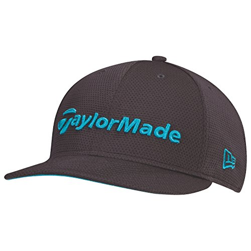 Taylor Made 2017 Performance Tour di New Era 9 Fifty piatto Bill Cappello Uomo strutturato hysterese Golf Cap, Grey/Teal, Taglia unica