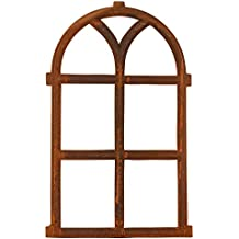Nostalgie Stallfenster Fenster 55x70cm Eisen Gusseisen Rost antik Stil Okna Antyczne materiały budowlane
