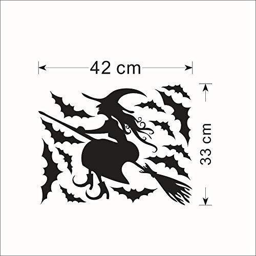 ella parete Della Stanza dei Bambini Della strega di Halloween Sopravvivenza impermeabile su ordinazione all'ingrosso ()