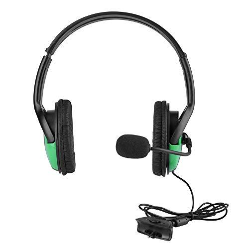 Changseo Adjustable Gaming Headset Kabelgebundener Kopfhörer-Kopfhörer mit Mikrofon für Xbox360