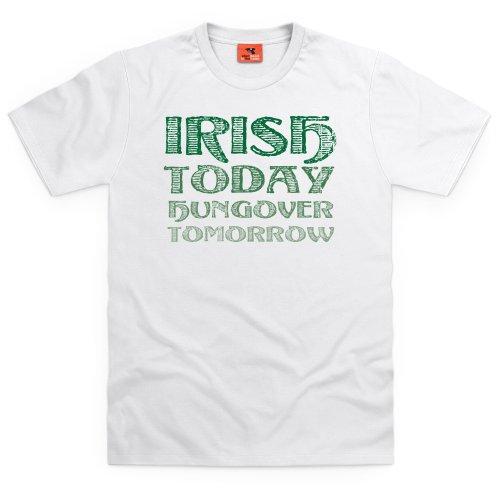Hungover T-Shirt, Herren Wei