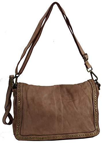 BZNA Bag Gil Rosa Italy Designer Clutch Umhängetasche Damen Handtasche Schultertasche Tasche Leder Shopper Neu