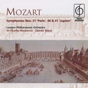 Symphonies Nos. 31, 40 And 41 (Macal, Lpo, Mackerras)