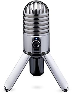Samson Meteor Mic Microphone à condensateur USB cardioïde Chromé (B004MF39YS) | Amazon price tracker / tracking, Amazon price history charts, Amazon price watches, Amazon price drop alerts