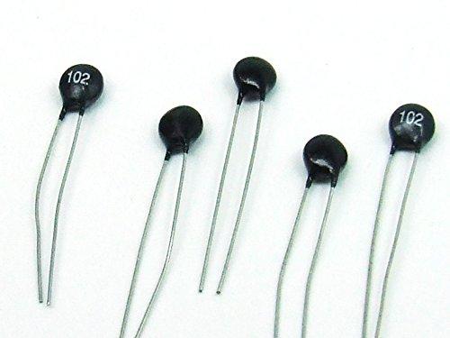 Pezzi 5 x TERMISTORE / Thermistor 1K NTC Sensore di Temperatura compatibile Arduino #A758