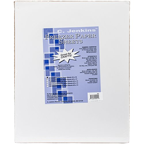 C. Jenkins Freezer Paper Sheets, 12 x 15 in (Pack of 40)