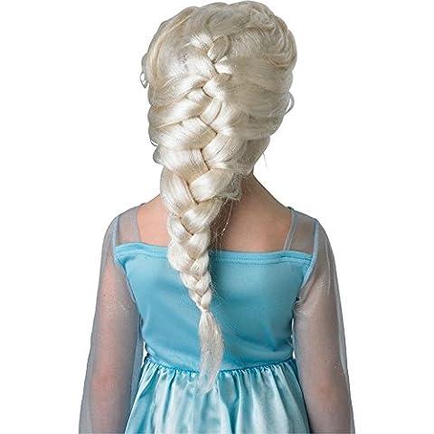 Rubie's 3 52865 - Elsa Wig, Frozen, aschblond (Zoom Film Kostüm)