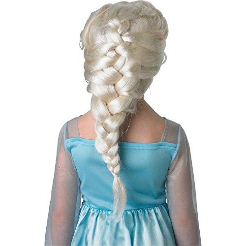 Rubie's 3 52865 - Elsa Wig, Frozen, aschblond (Kostüm Mädchen Perücke)