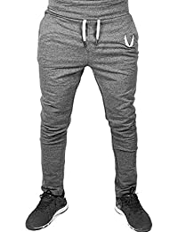 Elecenty Abbigliamento sportivo uomo casual elastico Pantaloni da palestra  Fitness Workout Running Gym 7a16d26e753
