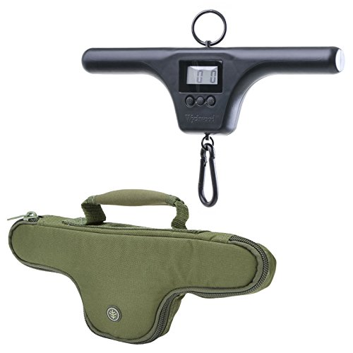 Wychwood T-Bar Mark 2 Digital Fishing Scales and System Select Scales Pouch -