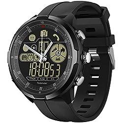 Zeblaze Vibe 3/4 Smartwatch Hillrong Bluetooth Smart Bracelet per iOS e Android, Contapassi per (Nero 4)