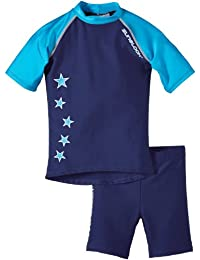 Zunblock Stars Not Stripes Ensemble anti-UV Haute manches courtes + short Garçon