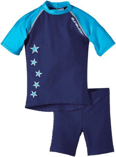 Zunblock Kinder UV-Schutzkleidung Suntop Set, Blau, 86/92, 2300052