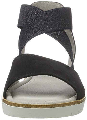 Gabor Shoes Fashion, Sandali con Zeppa Donna Blu (pazifik/ocean 16)