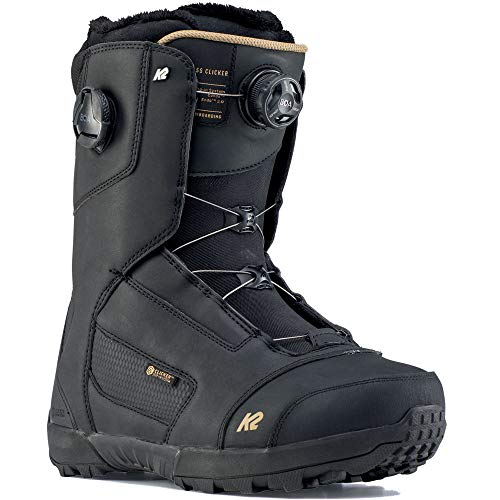 K2 Compass Boa Clicker Step In Snowboardboot 2020 - Black Gr. 44.5 (US 11)