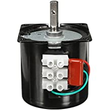 Rishil World AC 220V 2.5RPM High Torque Gear-Box Electric Synchronous Gear Motor