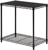 AmazonBasics 2-Tier Stackable Shelf