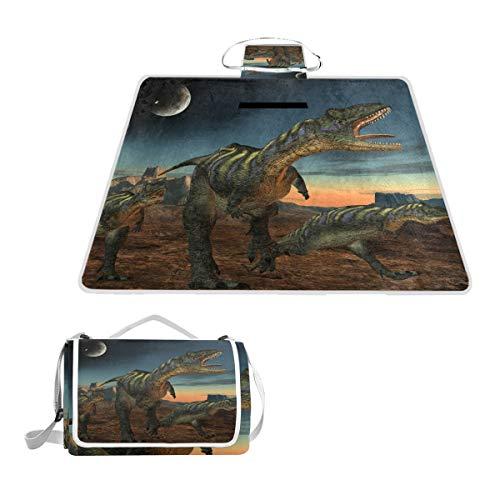 BALII Jurassic Period Manta Dinosaurio pícnic, Impermeable