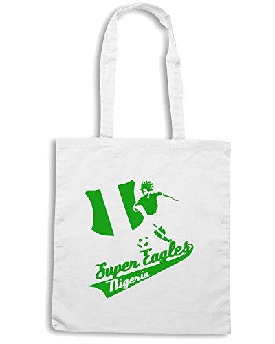 T-Shirtshock - Borsa Shopping WC0131 NIGERIA Bianco