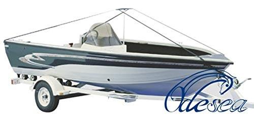 Stützsystem + Spanngurt f. Persenning bis 7.7m Motorboot Bootsabdeckplane Plane Boatcover