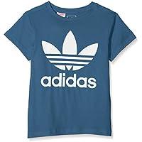 Adidas DH2472 Camiseta, Niños, Azul (azupal) / Blanco, 152 (11/12 años)