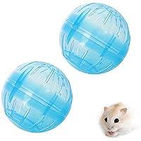 Pawaca Pelota de hámster para correr, juguete saludable y seguro, pelota de ejercicio para animales pequeños, fácil de limpiar