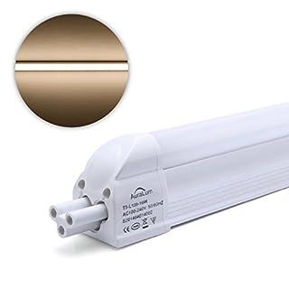 2er Auralum® 10 Jahren Garantie 120cm 16Watt T5 1550LM LED Röhre Leuchtstoffröhre Warmweiß 2800~3200K SMD 3535*96LED