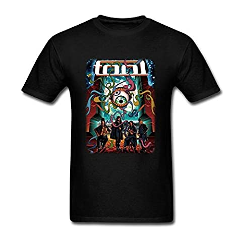 Homme's Tool Rock Band Tour Poster T Shirt X-Large