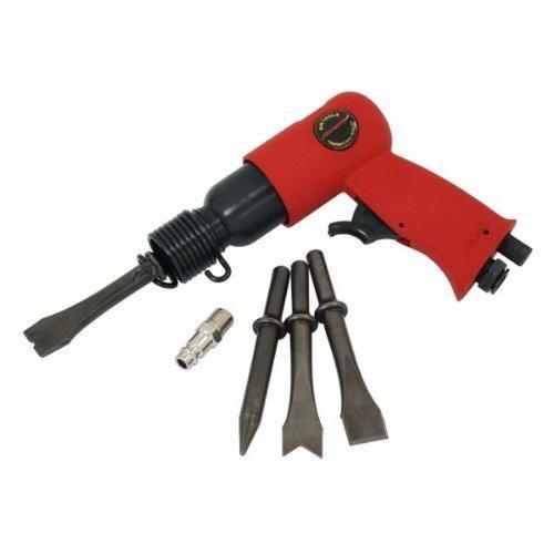 Drucklufthammer Set 150mm (15.2cm 5-teilig Mit Meißel - 1er Packung/S