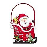 Dorical Weihnachten Geschenkband Weihnachten Weihnachtsmann Elch Süßigkeit Geschenk Tasche Weihnachten Süß Sack Aktien Filer Party Lieferungen