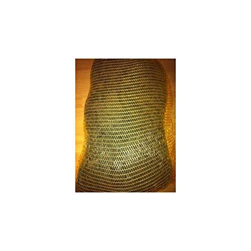 Lonneo Liens Textile EXTENDOUX Noir Type \Lycra\ - Idéale pour maraichage, Jardinage, Couture, création de Bijoux.