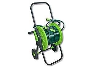 chariot enrouleur de tuyau d 39 arrosage avec 30 m de tuyau d 39 arrosage de jardin 1 2 pouce amazon. Black Bedroom Furniture Sets. Home Design Ideas