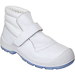 Panter 415101600 - FRAGUA VELCRO TOTALE S2 BLANCO 269 Talla: 43