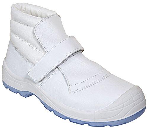 Panter 415101600Chaussure Velcro S2Blanc 269Pointure 44 Blanc