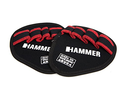 Hammer Griffpolster Grip Pad, Schwarz/Rot, L/XL, 95414