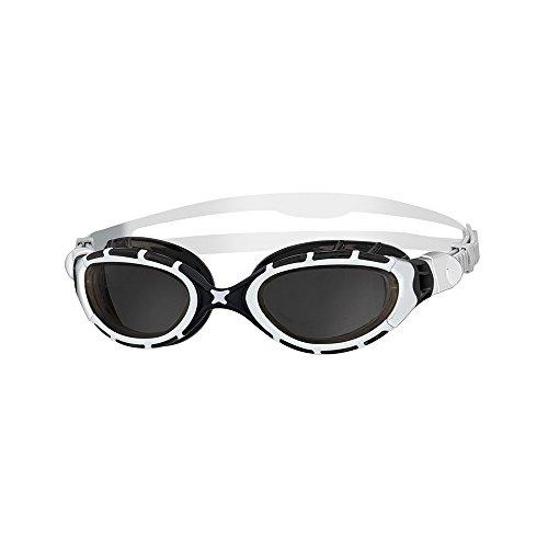 Zoggs Schwimmbrille Predator Flex, Smoke/White/Black, 319848