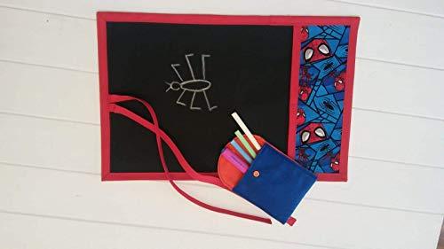 Pizarra portátil enrollable tela Spider-Man