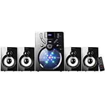 Zebronics Computer Multimedia Speaker With Bluetooth, USB, FM And Remote Control - UDAAN 4.1