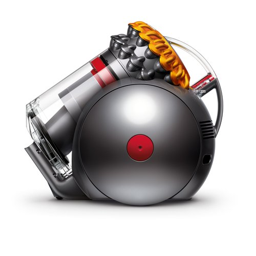 Dyson Big Ball Multifloor Plus-Aspiradora sin Bolsa de Trineo (800 W de Potencia, 252 W de succión, Capacidad del Cubo 1.8 litros, 5 años de garantía) Color Amarillo, 85 Decibeles, Metal, plástico