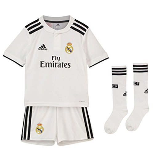 adidas 18/19 Real Madrid Home Minikit Conjunto, Unisex bebé, (blabas/