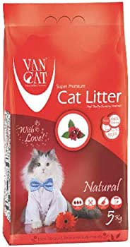 Van Cat 5 kg Natural White Bentonite Clumping Cat Litter