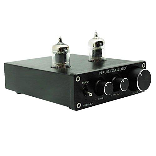 asiproper tube-03HiFi Puffer 6J1Tube Vorverstärker Musik Verstärker mit Treble Bass