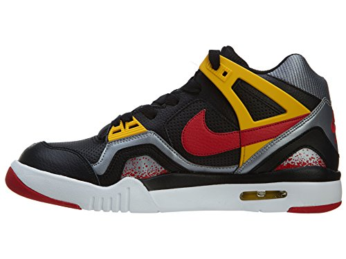 Nike Tech Challenge 2 (gs) Big Kid Basketball-Schuhe Black/Unvrsty Red-Metallic Cl Grey