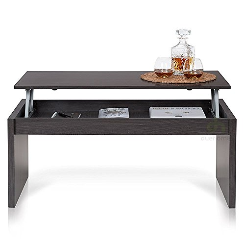 Due-home-Table-basse-grise-avec-plateau-relevable