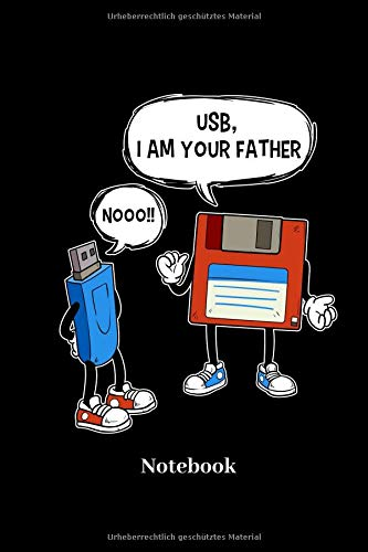 USB I Am Your Father Notebook: L...
