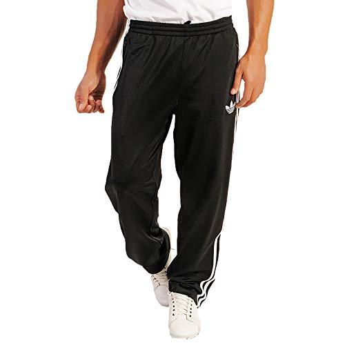 adidas Herren Trainingshose Firebird, black/white, M, 743963