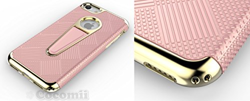 iPhone 8 / iPhone 7 Hülle, Cocomii Angel Armor NEW [Heavy Duty] Premium Tactical Grip Kickstand Shockproof Hard Bumper Shell [Military Defender] Full Body Dual Layer Rugged Cover Case Schutzhülle Appl Rose Gold