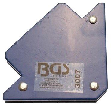 BGS 3007 Support magnétique, Bleu, 11kg
