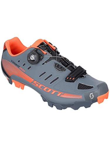 Scott MTB Team Boa Fahrrad Schuhe grau/orange 2016: Größe: 44 (Schuhe Orange Team)