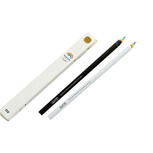 Blue Vessel 2pcs Bleistift Geschenk Kinder Bleistift Regenbogen Stifte